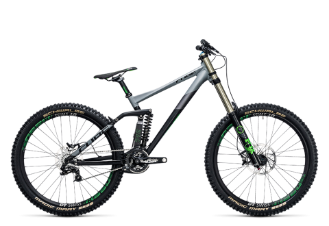 Cube TWO15 HPA Race 27.5 black´n´green 2017